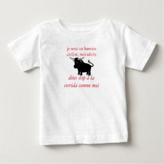 t-shirt enfant anti corrida, taureau