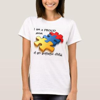 T-shirt Enfant autiste de maman fière