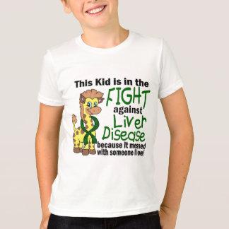 T-shirt Enfant dans le combat contre l'affection hépatique