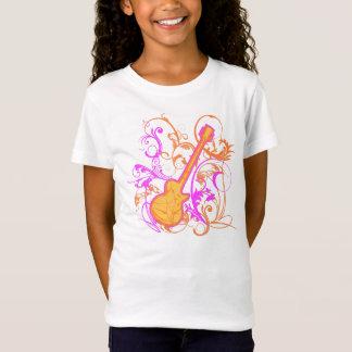 T-Shirt Enfant de grunge de guitare de la roche de la