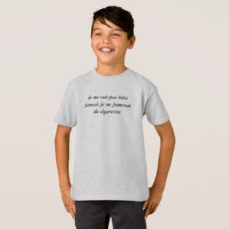 """t-shirt enfant """"pas bête"""""""
