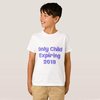 T-shirt Enfant unique expirant 2018