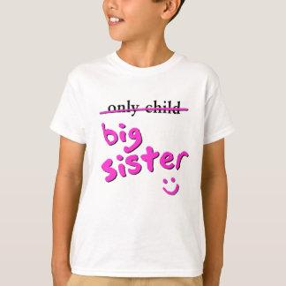 T-shirt Enfant unique/grande soeur