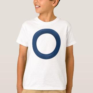 T-shirt Enfants d'anneau de Ringette/T-shirt de la