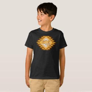 T-shirt Enfants de chemise de daine de Dabby de peloton de