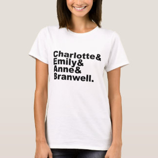 T-shirt Enfants de mêmes parents de Charlotte Emily Anne