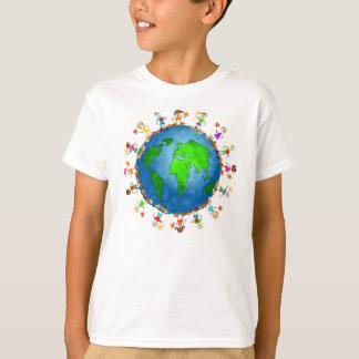 T-shirt Enfants globaux d'automne