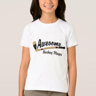 T-shirt Enfants impressionnants de joueur de hockey