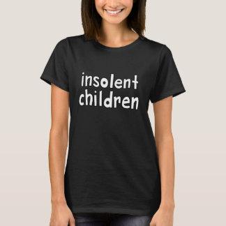T-shirt enfants insolents