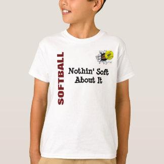 T-shirt ENFANTS Nothin mou au sujet du base-ball