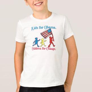 T-shirt Enfants pour Obama