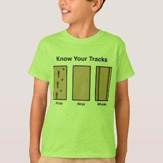 T-shirt Enfants T de voies