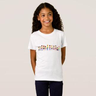T-Shirt Enfants tenant les mains T