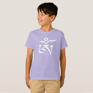 T-shirt Enfants tibétains de chemise d'ohm