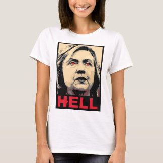 T-shirt Enfer tordu de Hillary Clinton - Anti-Hillary