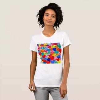 T-shirt Enfouissement vous-même dans l'amour parce que le