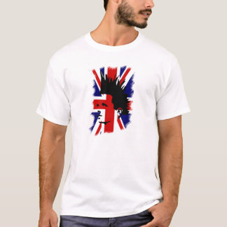 T-shirt english flag / punk