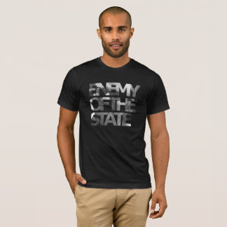 T-shirt Ennemi de Murray Rothbard de la pièce en t d'état