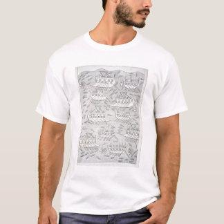 T-shirt Ennemis des Assyriens prenant le refuge dans des