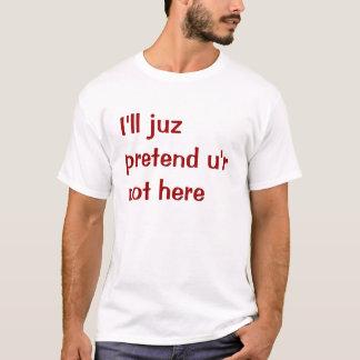 T-shirt ennuyer