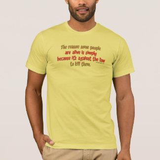 T-shirt Énonciation sarcastique drôle sur des personnes