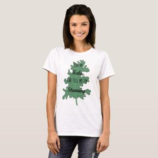 T-shirt Énonciations intelligentes sur le tee - shirt