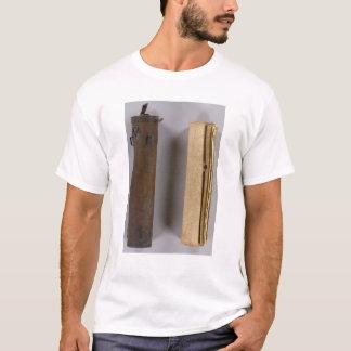 T-shirt Enquête de frontière du Michigan et de l'Indiana