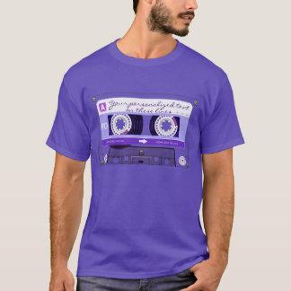 T-shirt Enregistreur à cassettes - pourpre -