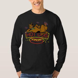 T-shirt Enseigne au néon de hot-dog de Scooby-Doo