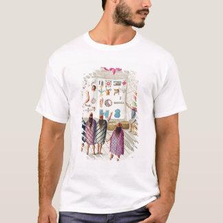 T-shirt Enseignement de la lecture des manuscrits