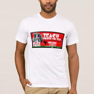 T-shirt Enseignez la vérité à la pièce en t de la jeunesse