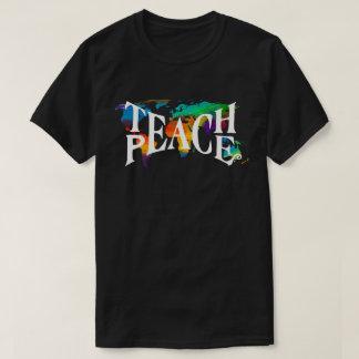 T-shirt Enseignez l'amour de tolérance du monde de 🌎 de