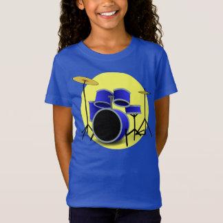 T-Shirt ENSEMBLE BLEU MODERNE DE TAMBOUR