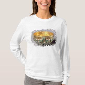T-shirt Ensemble de relief de cuvette