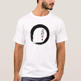 """T-shirt Enso avec le Japonais pour le """"artiste """""""