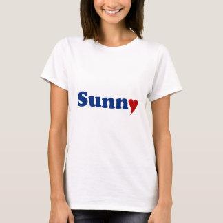 T-shirt Ensoleillé avec le coeur