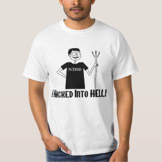 T-shirt Entaillé dans l'enfer
