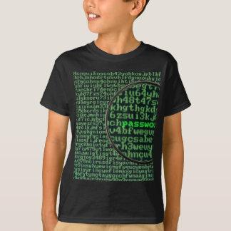T-shirt Entailler pour le mot de passe