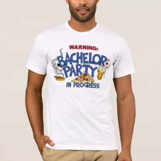 T-shirt Enterrement de vie de jeune garçon en cours