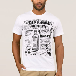 T-shirt Enterrement d'un lapin