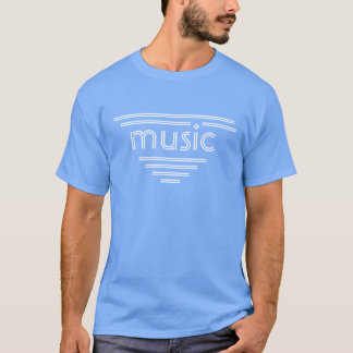 T-shirt entièrement personnalisable de musique de