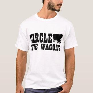 T-shirt Entourez les chariots