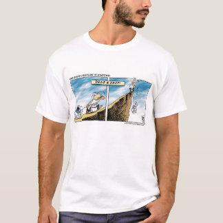 T-shirt Entrave et baisse