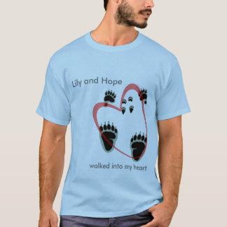 T-shirt Entré dans mon coeur