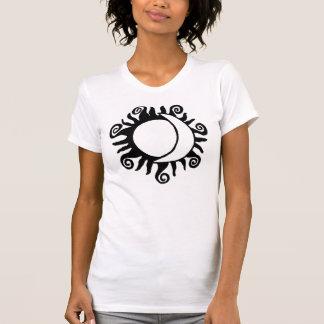 T-shirt Entre Sun et lune - pièce en t décontractée