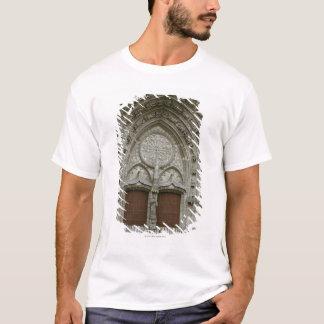 T-shirt Entrée fleurie d'arcade avec l'old-fashioned