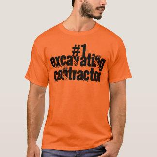 T-shirt Entrepreneur de excavation