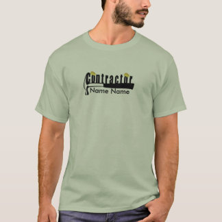 T-shirt Entrepreneur uniforme de constructeur de maisons