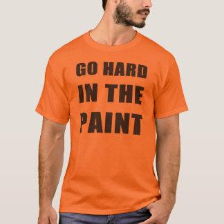 T-shirt Entrez dur dans la peinture