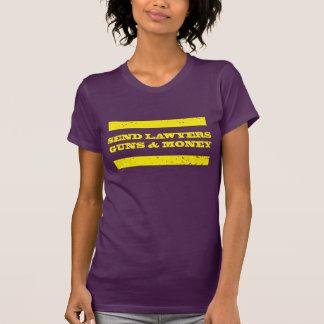 T-shirt Envoyez à des avocats les armes à feu et l'argent